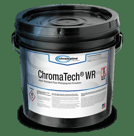 chromaline screen print products chromatech WR