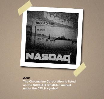 chromaline NASDAQ SmallCap market