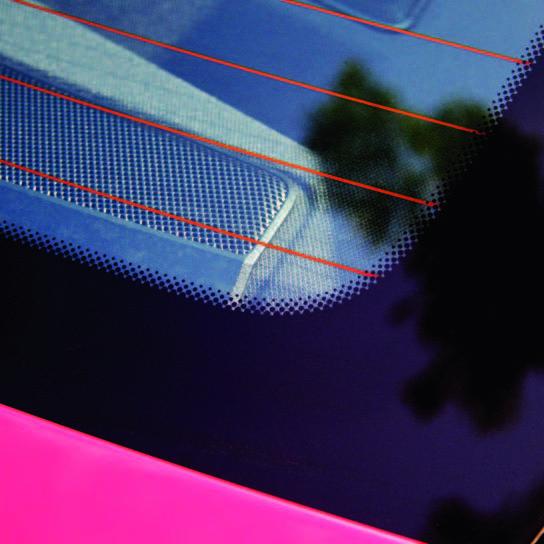 chromaline screen printing application glass