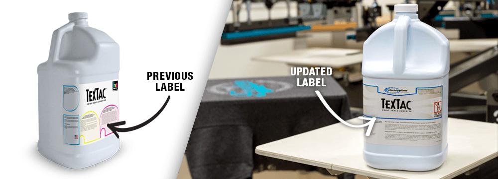 textac label update