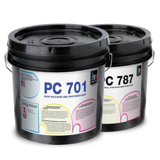 budget economy emulsions for screen printing