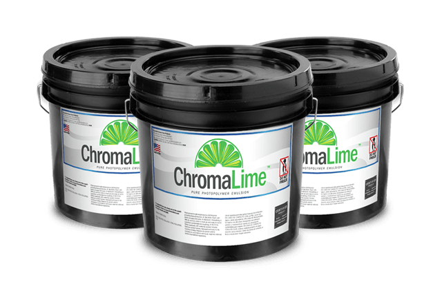 chromalime premium screen printing emulsion