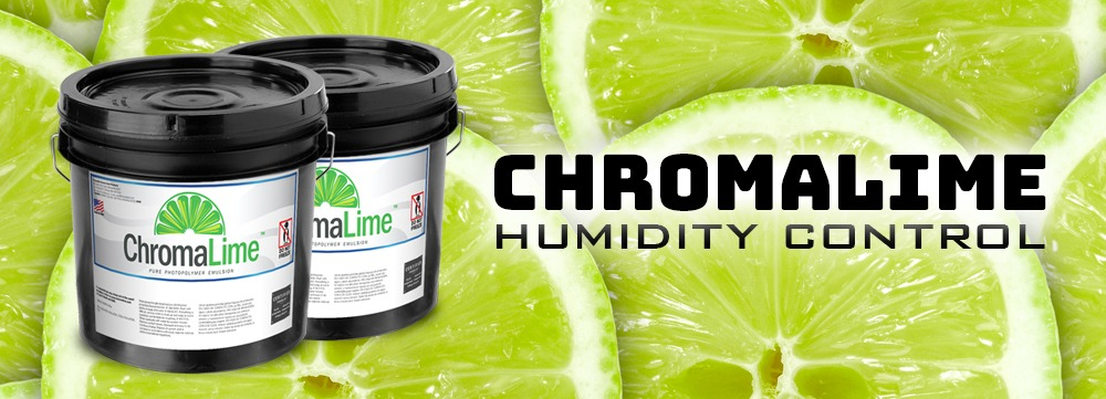 chromalime emulsion humidity control