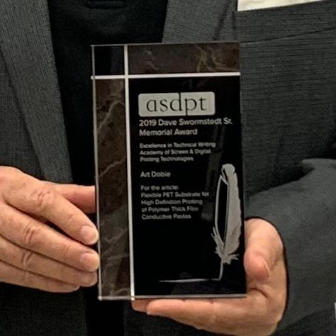 ASDPT Dave Swormstedt Sr Memorial Award