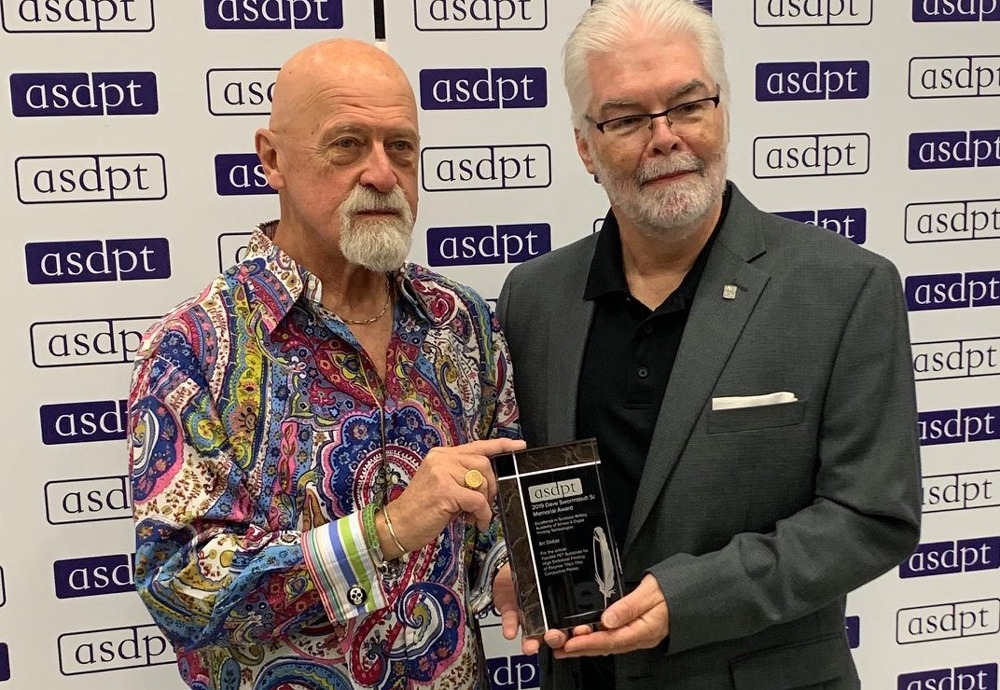 asdpt  Dave Swormstedt Sr. Memorial Award 2019