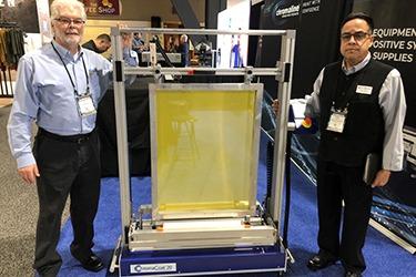 chromacoat 20 single screen auto coater