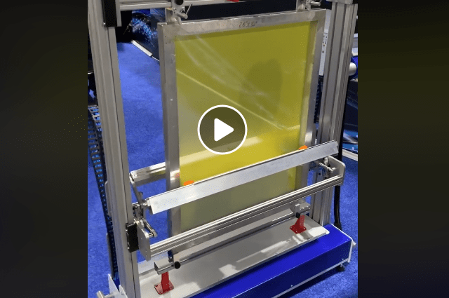 chromacoat 20 screen printing auto coater